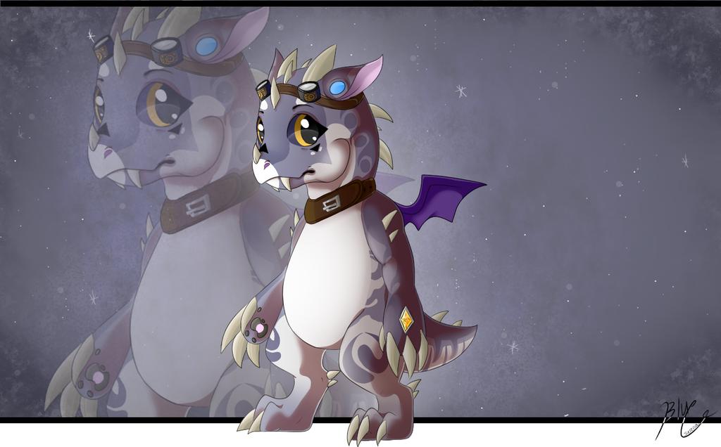 Chubby dragon adoptable