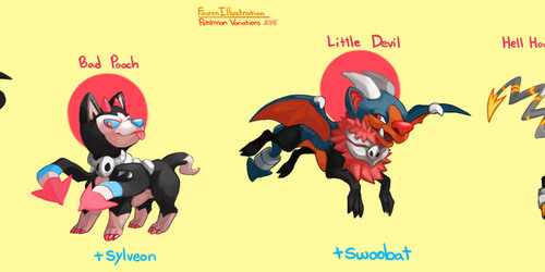 Pokemon Variations- Houndoom