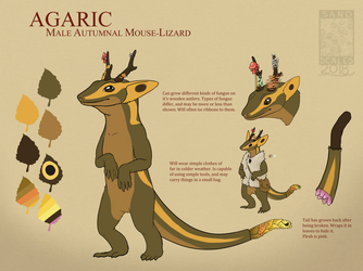 Agaric the Mouse-Lizard (REF)