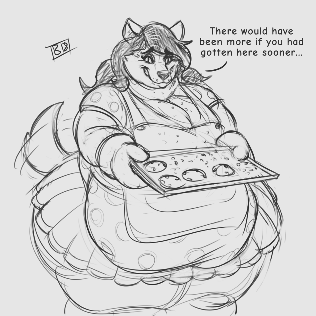 Fresh Out of the Oven [Comm / ReUpload]