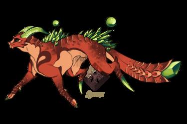 Desert Glass Dragon [OPEN]
