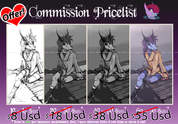 Commissions are OPEN with Discount!