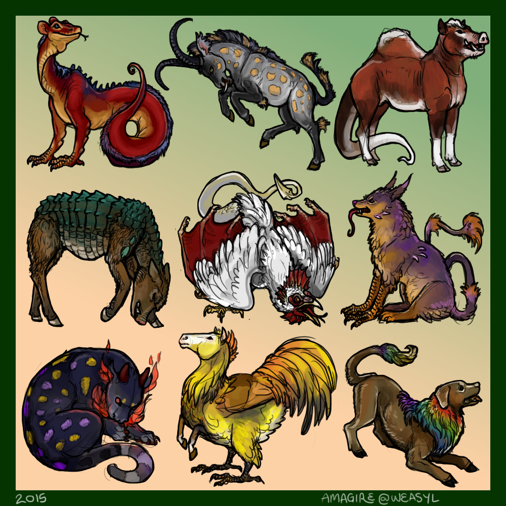 Adopt An Heraldic Beaste [$9]