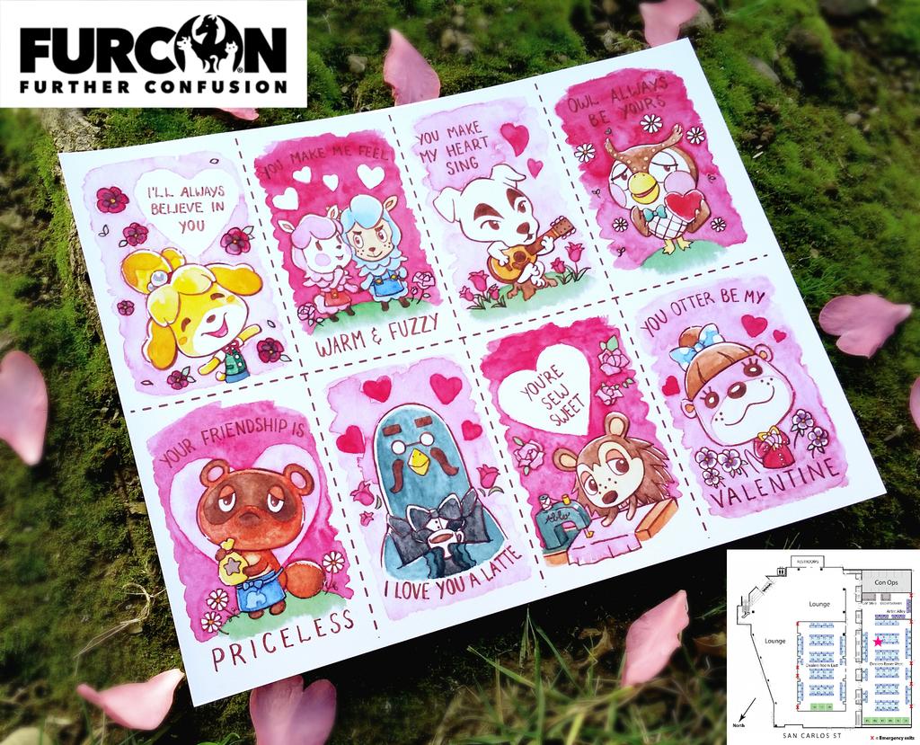 Most recent image: Animal Crossing Valentines FC2020