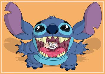 Sliding Down Stitch's Throat