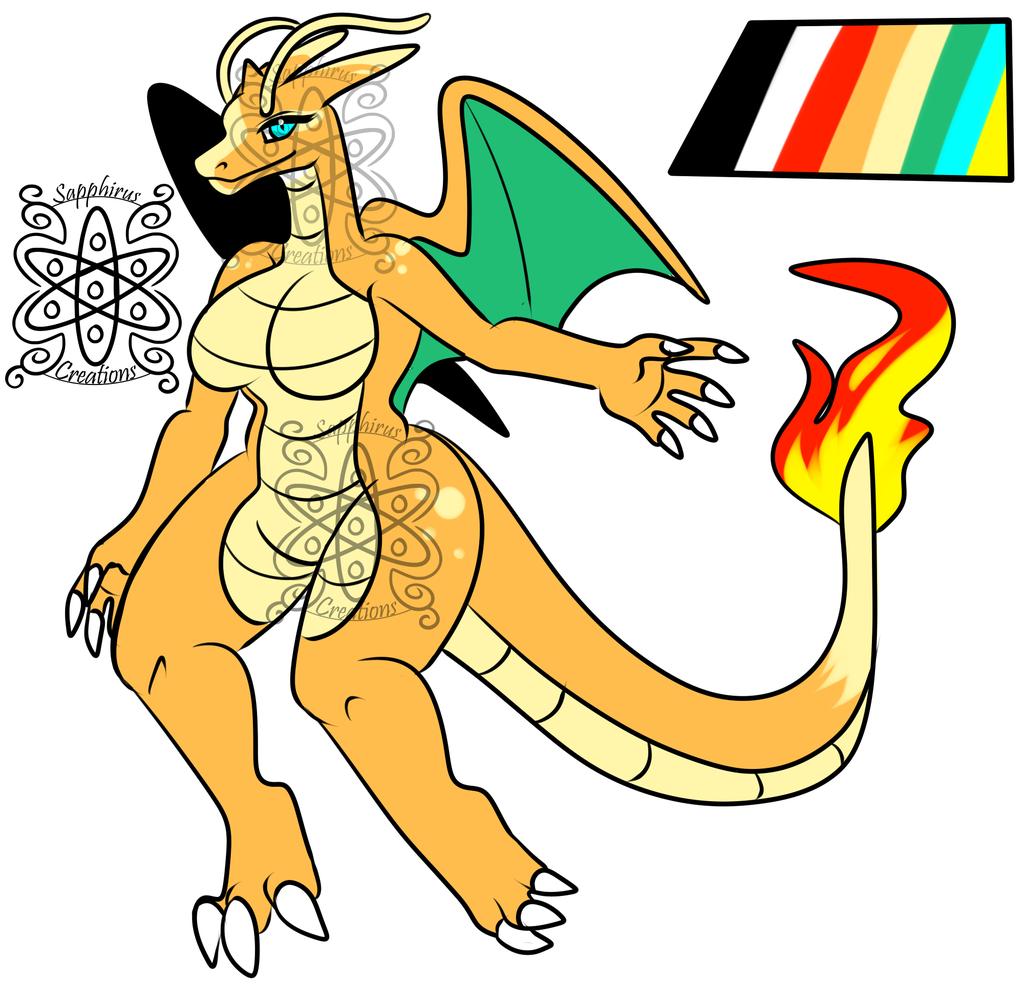 Female Dragozard +Design+ (SOLD)