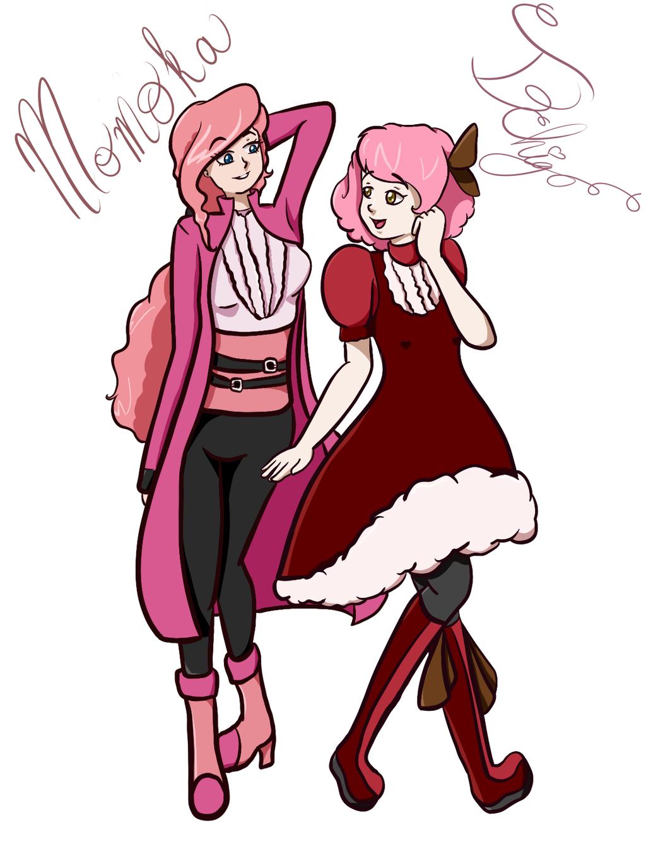 Momo and Ichigo