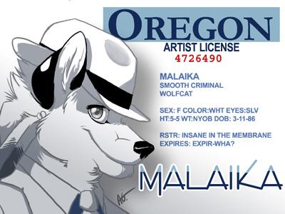 Oregon Artist License - Kilojara