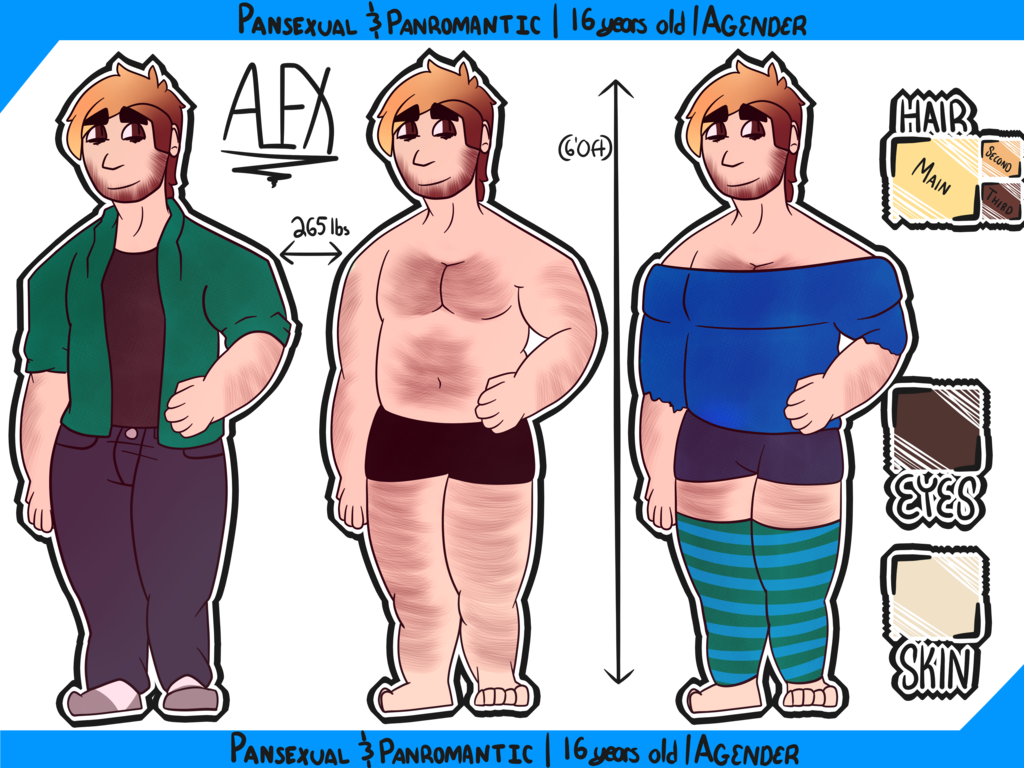 Alex | Personal Reference Sheet