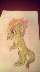 Dino Yin by Felicity
