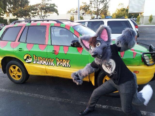 Jurassic Parked Car :D
