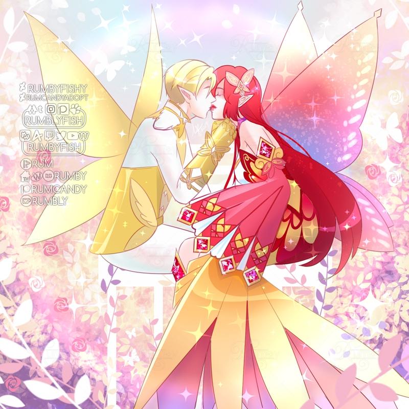 Most recent image: Fairy Kiss ✨ Speedpaint