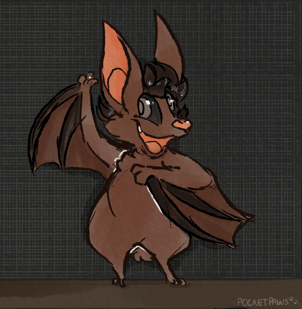 Drawlloween #10 - Bat 🦇