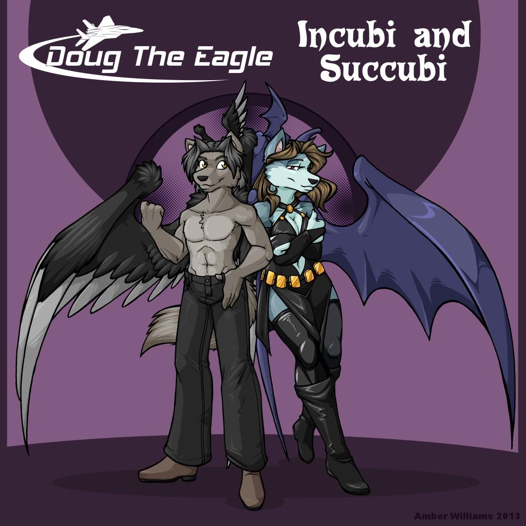 Incubi and Succubi Album cover (not my art!)