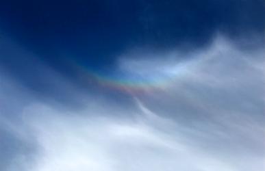 Upside Down Rainbow?!