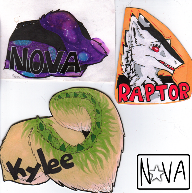 Traditional Badges - Clump 1