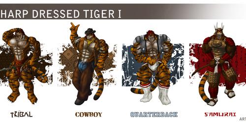Sharp Dressed Tiger I