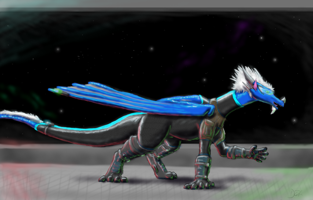 Deep Space Dragon