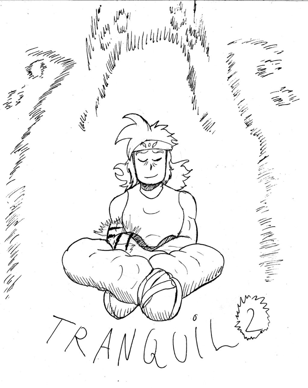 Inktober day 2: Tranquil