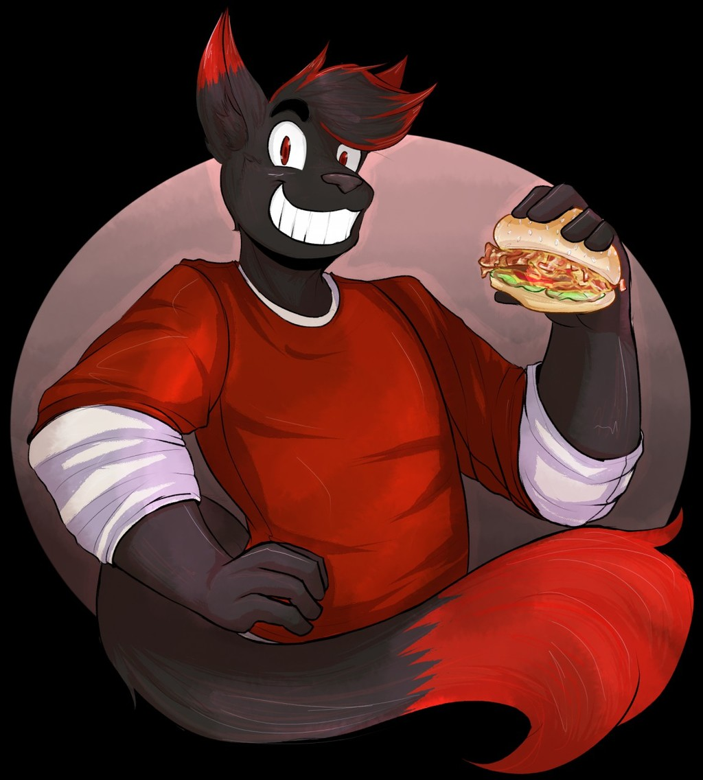 A Fox and His Burger
