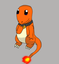 Charam the Charmander - by Zilver
