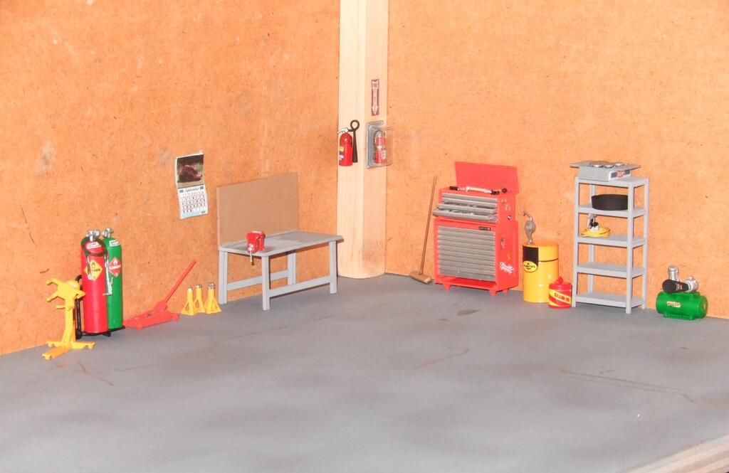 My Garage Diorama WIP
