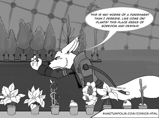 Featured Friday - M:INI Comic 9: Tree Hugger