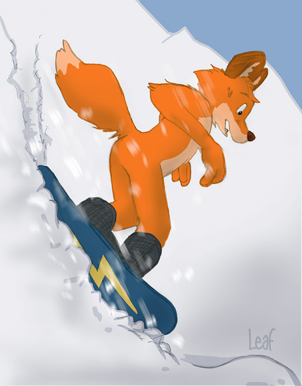 Most recent image: Snowboard fox