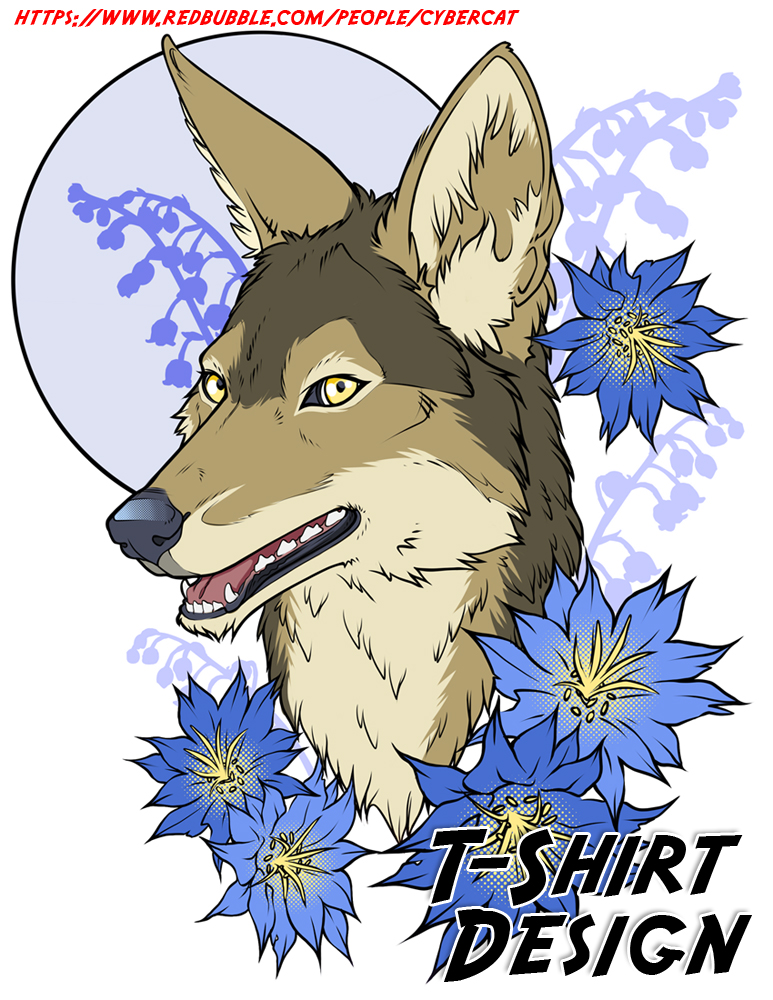 Jackal Moon Shirt Design