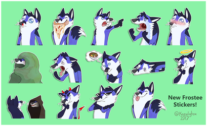 New Frostee Telegram Stickers
