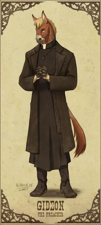 7th Star: Brother Gideon