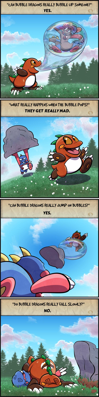 The Secrets of the Bubble Dragon