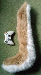 Wolf tail commission