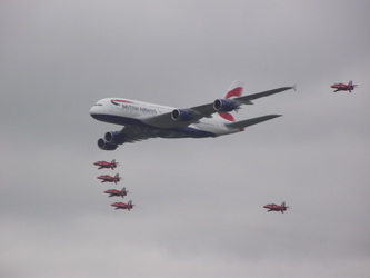 British Airways Royal Escort