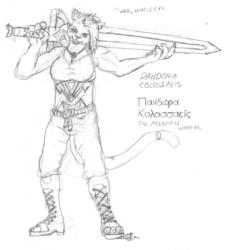 Pandora Colossaeis, Mountain Warrior