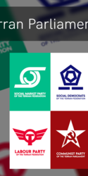 Terran Parliament emblems on RedBubble
