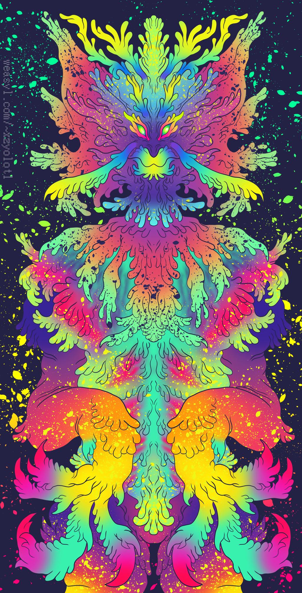 neon critter