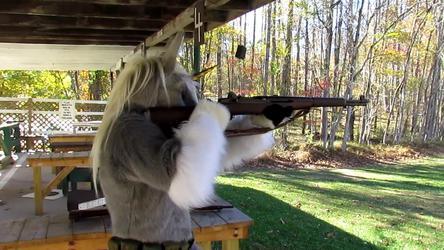 VIDEO:  Equus Shooting an M1 Garand