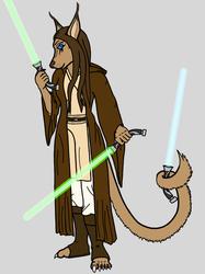Jedi Knight Saabri Firion (Robed)