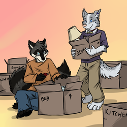 Moving Day by aggro_badger