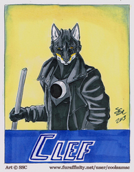 Clef Badge by Shadowsky