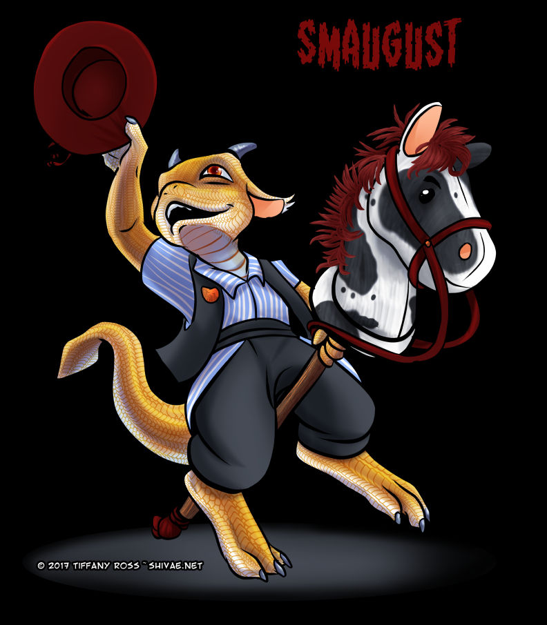 Smaugust #3 - Dragon Rider