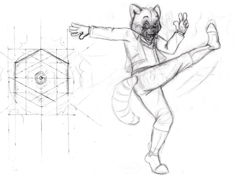 Star Fox James WIP Sketch