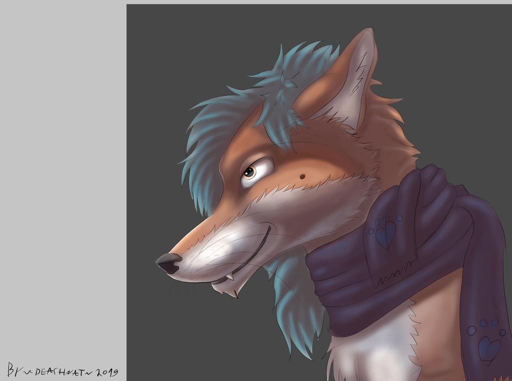 Fox echarpe