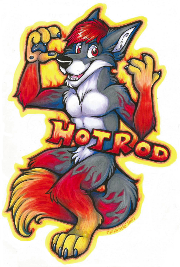 Hotrod Badge