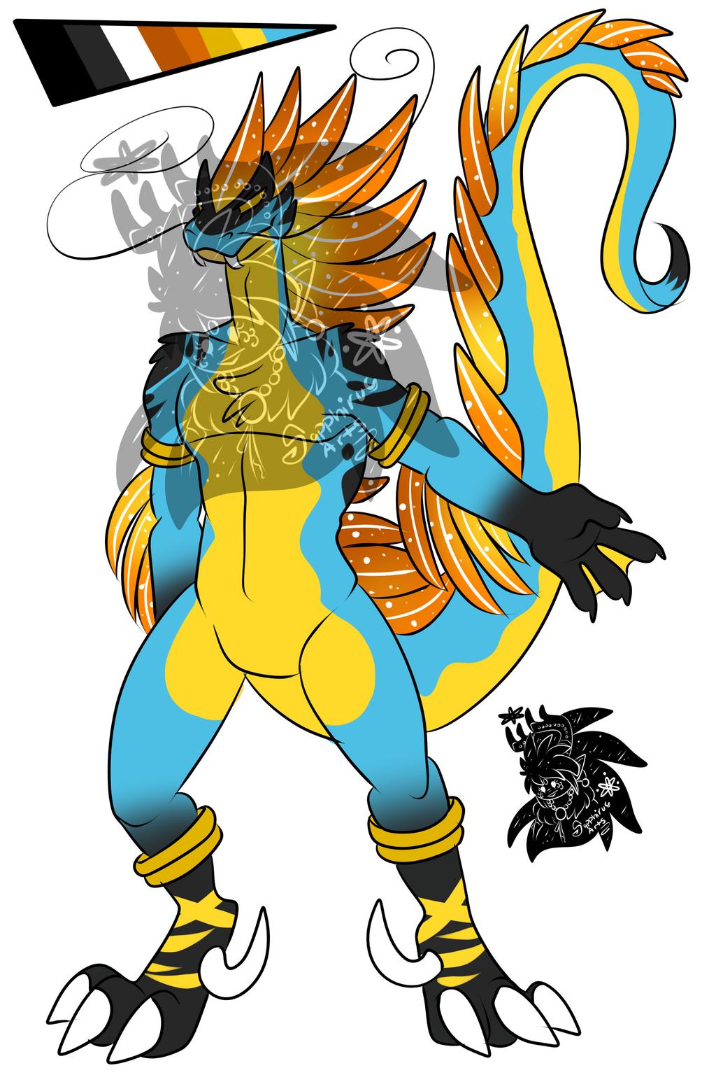Male Raptor Snake +Design+ (SOLD)