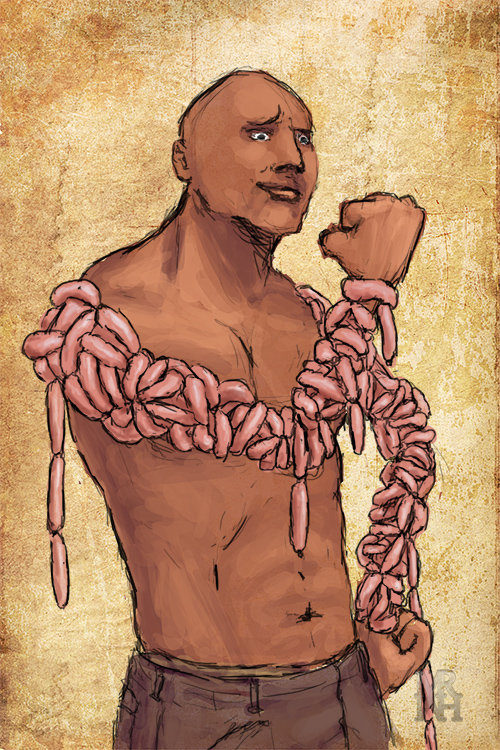 Dwayne 'The Sausage' Johnson