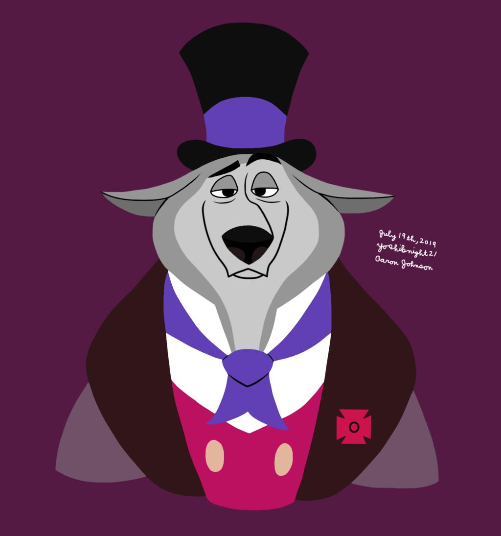 William Weatherall Wilkins - Wolf Form (Disney)
