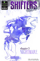 Shifters Issue 3 cover