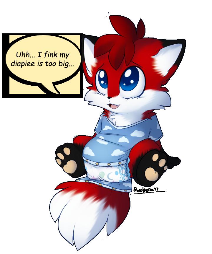 Most recent image: Diaper too big